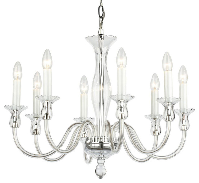 ameila crystal glass chandelier contemporary-chandeliers DLHCREF