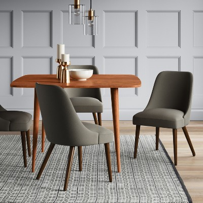 amherst mid-century modern dining table - project 62™ TNDZAXH