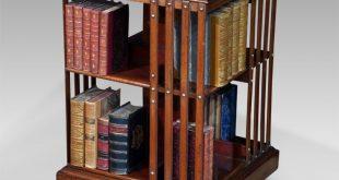 antique revolving bookcase SBUJQXO