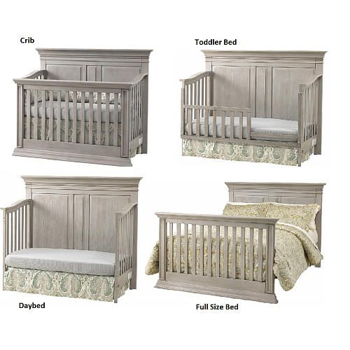 baby beds baby cache vienna 4-in-1 convertible crib - ash gray - baby cache MLGMDWJ