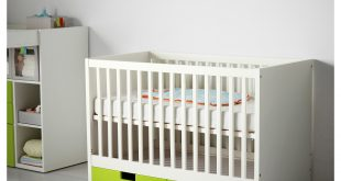 baby cot ikea stuva cot with drawers the cot base can be placed at BXNKZNM