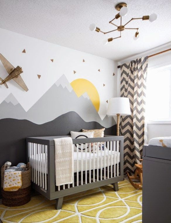 baby room decor eclectic nurseries (the boo and the boy). boys room paint ideasbaby room QMSREJW