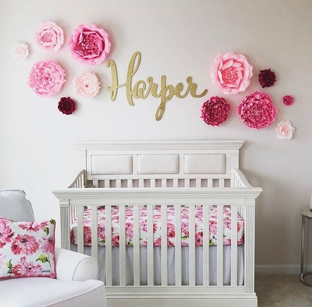 baby room decor i love this adorable nursery! the custom name sign is made by ZFNPSHI