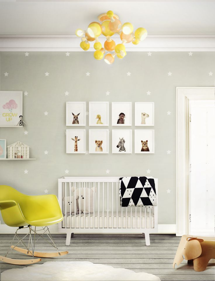 baby room decor neons + neutrals: match made in heaven   neutral nurseries, neon yellow MVCGPLW