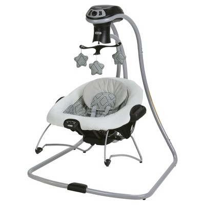 baby swings graco® duetconnect® lx with multi-direction baby swing - asher KBIAZMG
