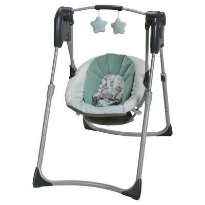 baby swings graco® slim spaces™ compact baby swing OJTBWUW