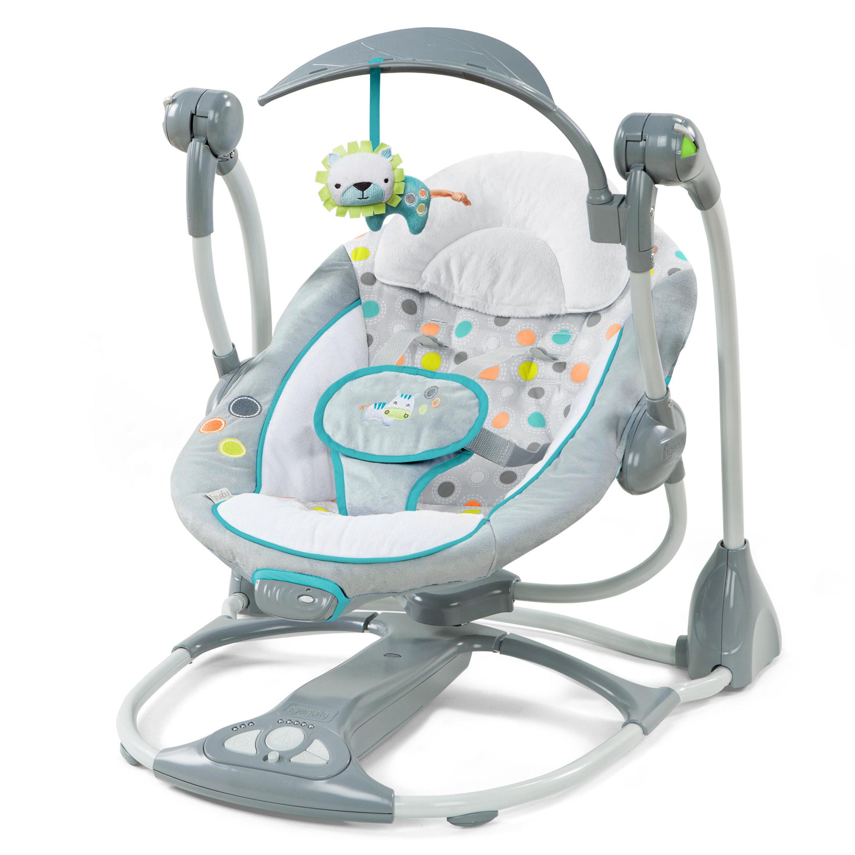 baby swings ingenuity convertme swing 2 seat portable swing ridgedale FGIADUY