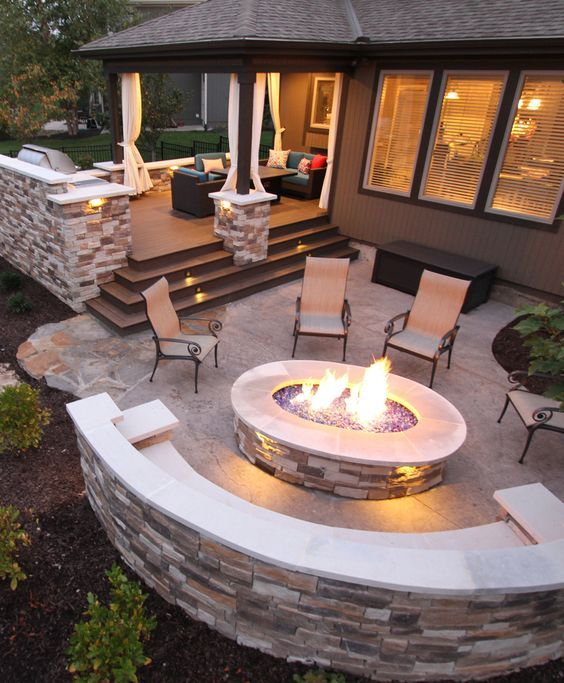 backyard patio ideas 16 creative backyard ideas for small yards PDVNMKD