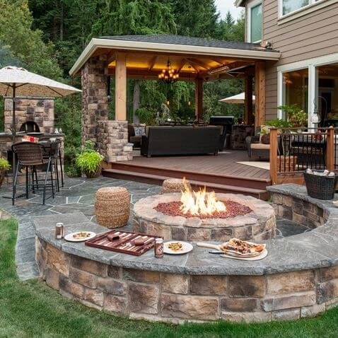 backyard patio ideas 30 patio design ideas for your backyard VKERIVP
