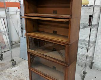 barrister bookcase 5 shelf lawyers type HOLSILG
