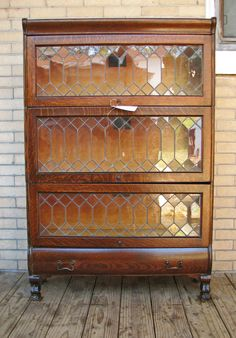 barrister bookcase barristeru0027s bookcase with leaded glass doors QCJBPNM