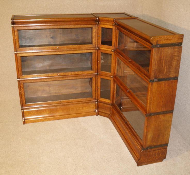 barrister bookcase rare antique oak corner globe wernicke barristers bookcase martin wallpaper MBMFDPB