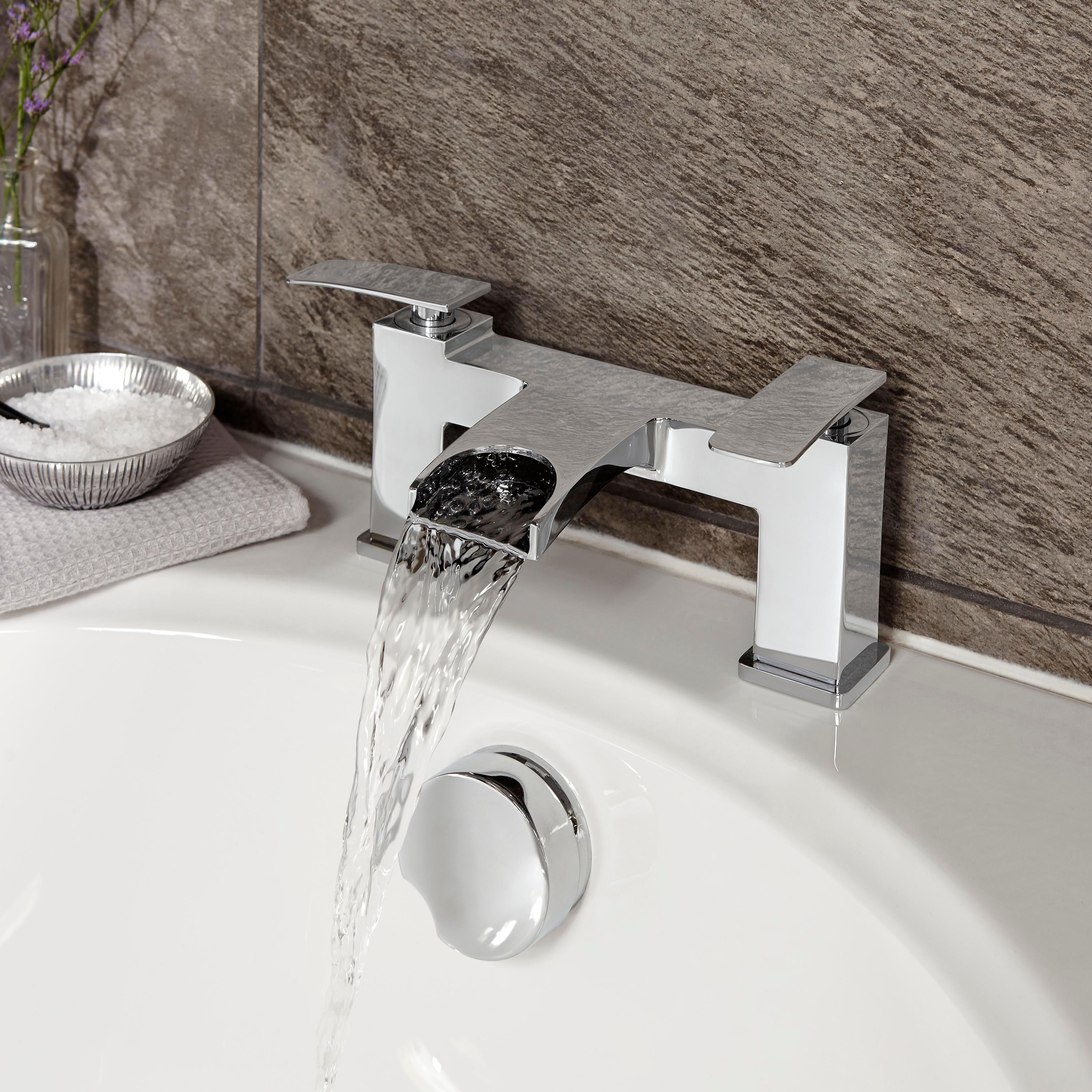 bath taps waterfall bathroom taps KACNMCE