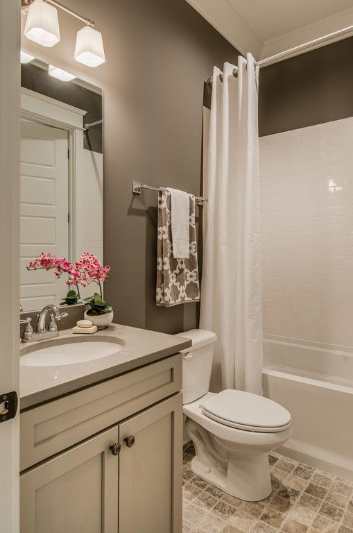 bathroom colors paint color is sherwin williams portico sw 7548. contemporary full bathroom SMVHVQV