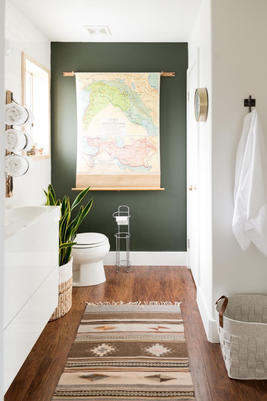 bathroom colors photo by: mandi gubler, vintagerevivals.com TLHGJGH