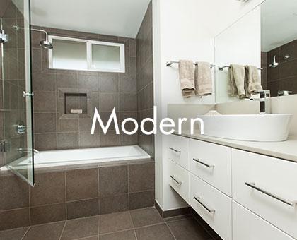 bathroom design portfolio - one week bath designs PLOFVCC