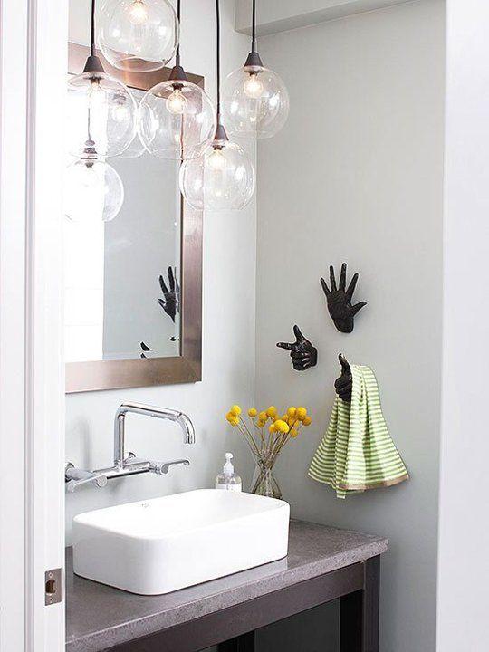 bathroom lighting ideas brighten up your bath: 8 super stylish lighting KLQTEZK