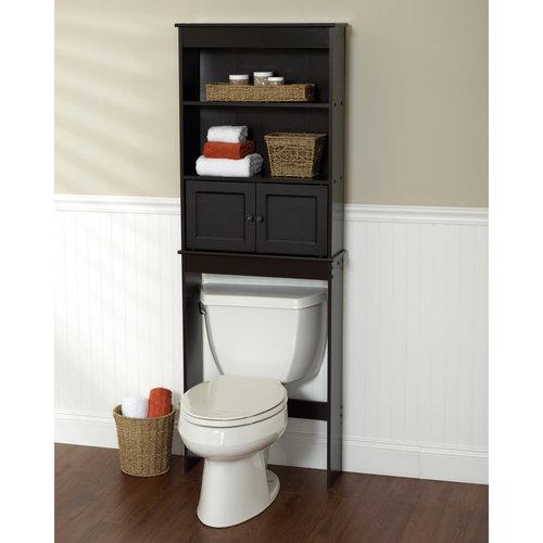 bathroom space saver espresso bathroom shelf space saver PFMQSEN