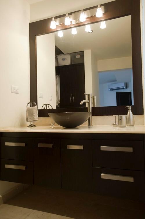 bathroom vanity mirrors with lights vanity, mirror and light fixture HWILSZT