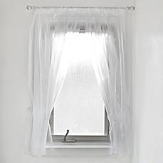 bathroom window curtains vinyl bath window curtain in frost KIONJUI