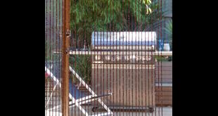 beaded door curtains pillar products 90 x 200cm teak bali bead door curtain | bunnings GVWQMJF