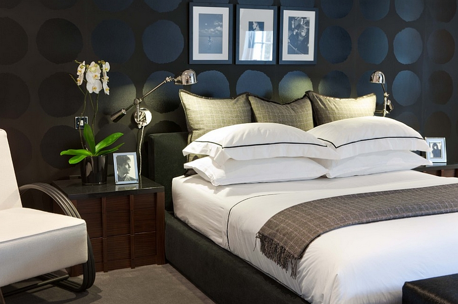 beautiful bedrooms view in gallery contemporary bedroom uses black in a playful manner WBEOXMV
