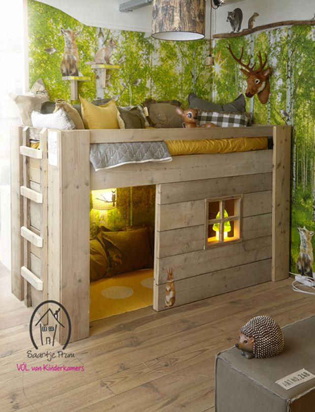 beautiful childrens beds from saartje prum YIQKCOG