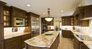 beautiful granite kitchen countertops ideas KLDBNFT