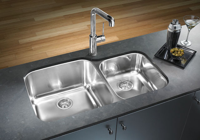 Beautiful Stainless Kitchen Sinks The Modern Steel Remodel Cesmkjr