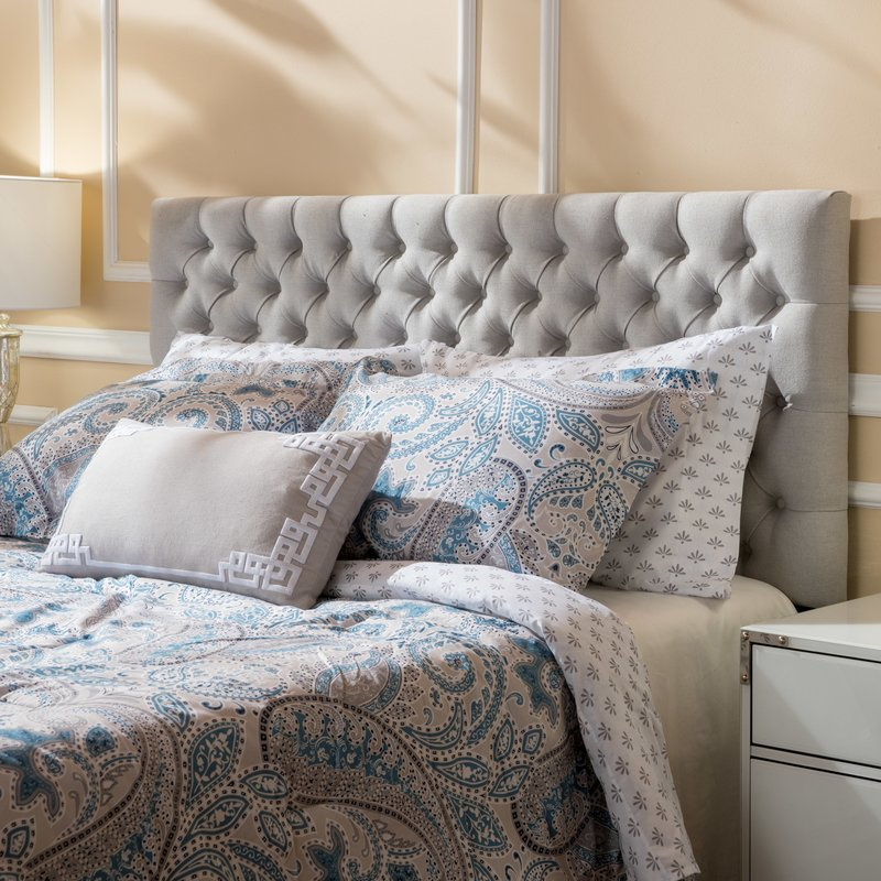 bed headboards bennett queen upholstered panel headboard LNKVHIC