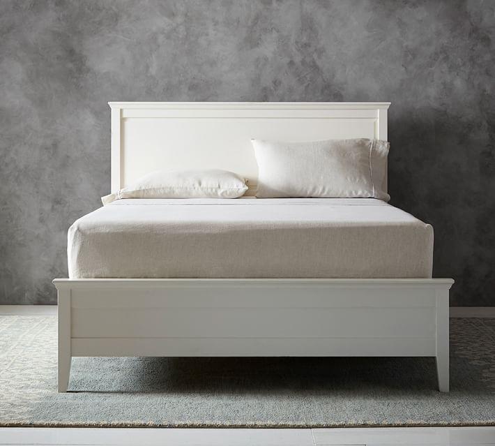 bed headboards clara bed u0026 headboard | pottery barn RIUTJXM