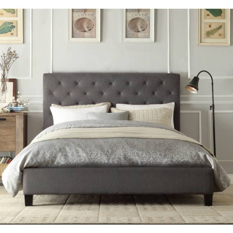 bedframes fabric bed frame queen upholstered bed frame king chester queen size QPAIVCT
