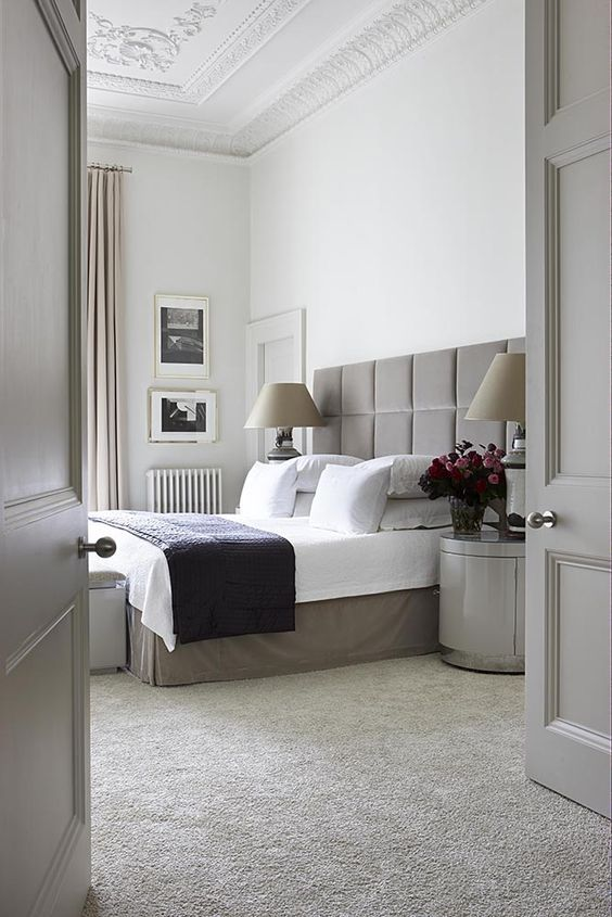 bedroom carpets opt for carpet over wood. interior inspiration for your dream home: LRAQBMD