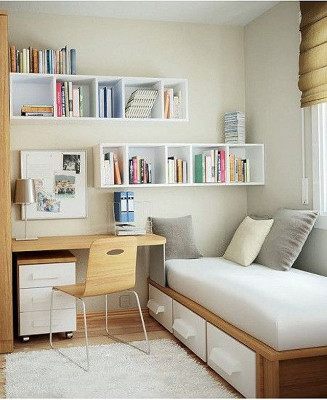 bedroom designs for small rooms https://i.pinimg.com/736x/6f/22/3c/6f223ccdfcfdba5... DEOUXPO