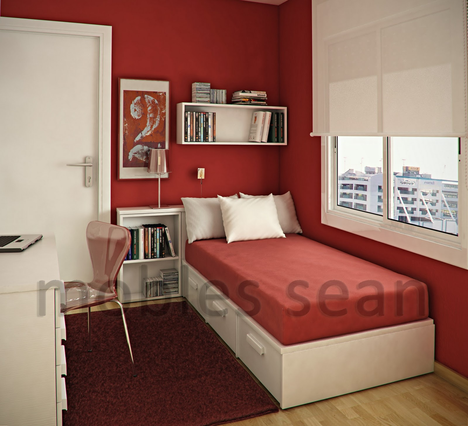 bedroom designs for small rooms space-saving designs for small kidsu0027 rooms SNOGPOG