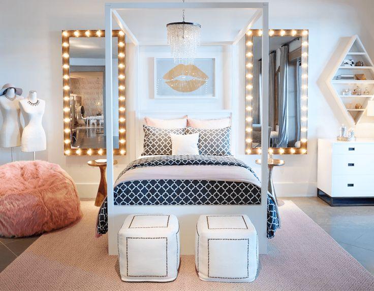 bedroom ideas for teenage girls best 25+ teen bedroom ideas on pinterest | bedroom decor for teen SZLURMI