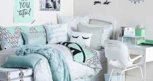 bedroom ideas for teenage girls uptown girl room | available on dormify.com | dorm bedding loves | UJGNQRI