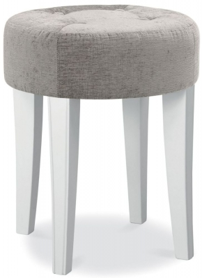 bedroom stools bentley designs chantilly white stool ZTGRFHM