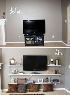 bedroom tv stand 50+ creative diy tv stand ideas for your room interior KYNFHQR