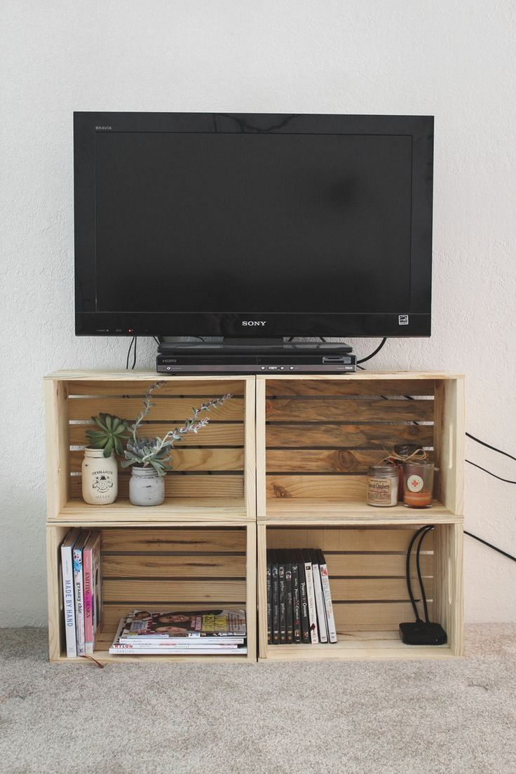 bedroom tv stand 99+ diy home decor ideas on a budget you must try - DZBNHGQ