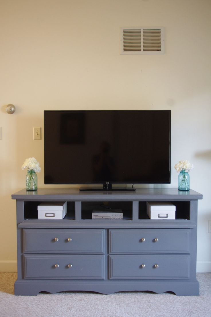 bedroom tv stand canu0027t-miss ways of using repurposed tv stands MRVFCKZ