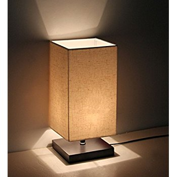 bedside lamp minimalist solid wood table lamp bedside desk lamp PBFVIME