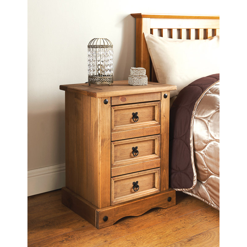 bedside table 309701-rio-3-drawer-bedside DNHRTHC