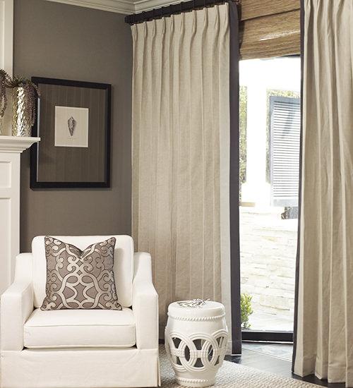 belgian estate linen custom drapes TWWIKMI