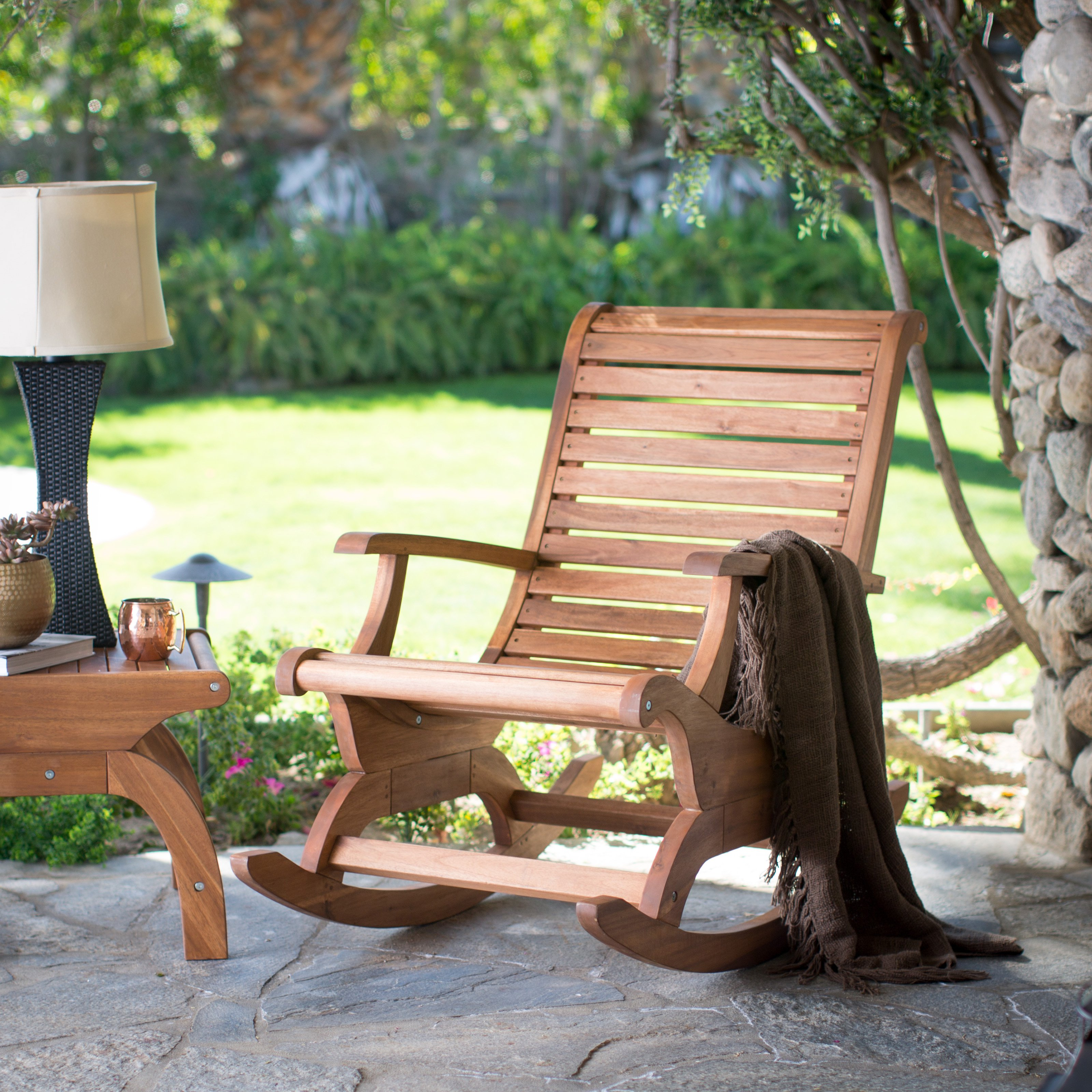 Outdoor Rocking Chair : time to relax