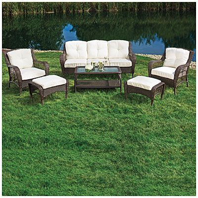 big lots patio furniture wicker i found a wilson u0026 fisher hampstead patio furniture collection at big NPZXVFO