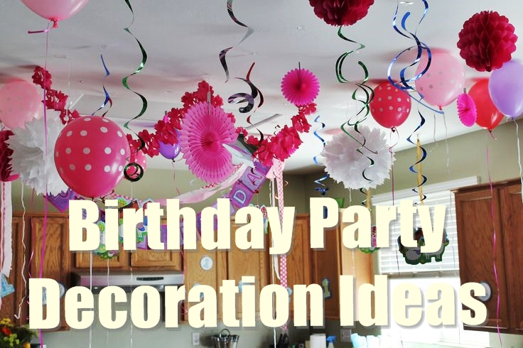 birthday party decoration ideas GXLDOYP