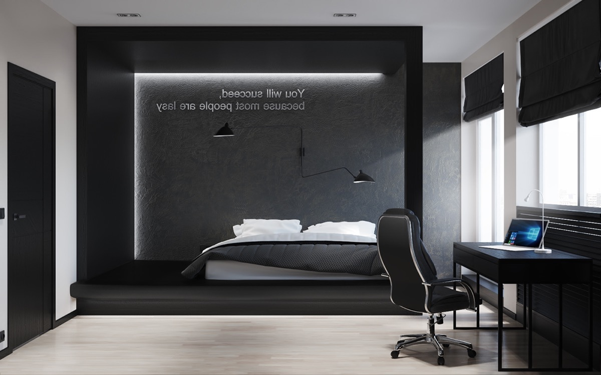 black and white bedroom ideas 40 beautiful black u0026 white bedroom designs YSFOTYI