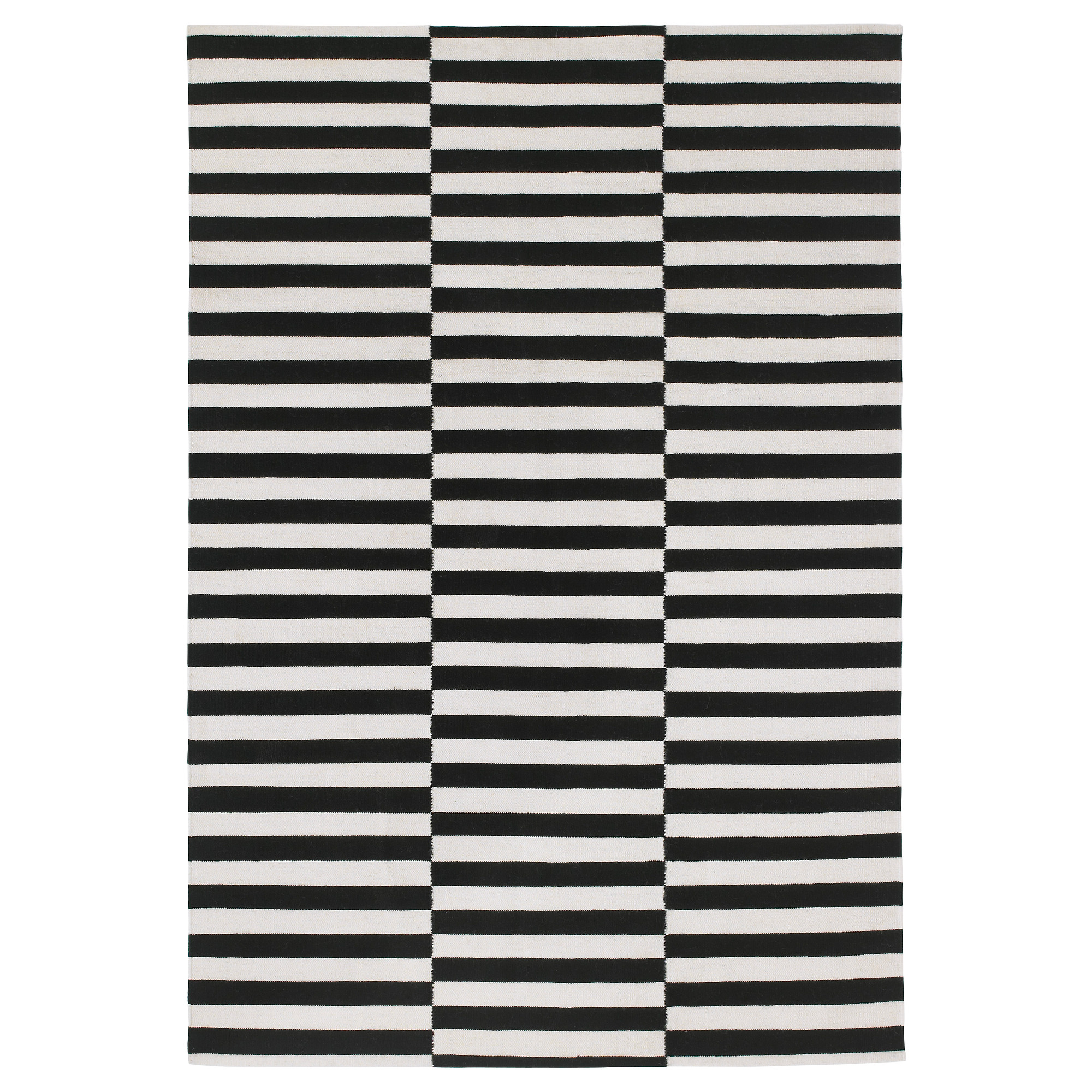black and white rug stockholm rug, flatwoven - 170x240 cm - ikea DOFGNNX