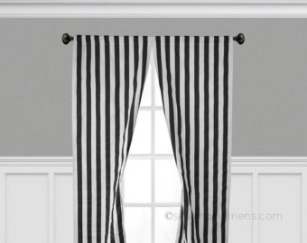 black and white striped curtains black and white stripe curtain panels window treatments black stripe  curtains OUWDYRA